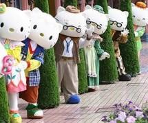 Thế giới mèo Kitty trong công viên Sanrio Puroland, Nhật Bản