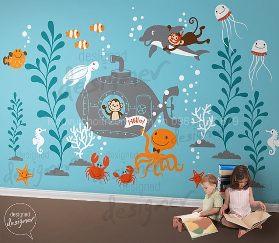 Underwater_Theme_Decal_Stickers_for_Nursery_Kids_Room_-_dd1057_2_-_Copy