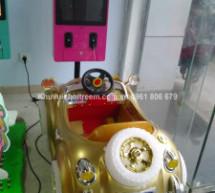 Máy game đua xe ô tô nhún dành cho trẻ em