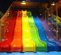Tổng hợp các loại máng trượt, ống trượt đẹp mắt tại các khu vui chơi trẻ em