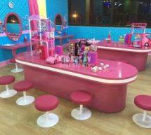 Phòng trang điểm hóa trang thu hút bé gái