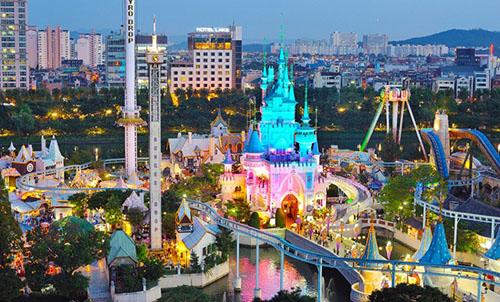 Kết quả hình ảnh cho Công viên Lotte World
