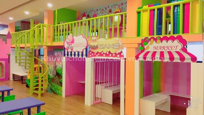 Khu vui chơi trong nhà dành cho trẻ