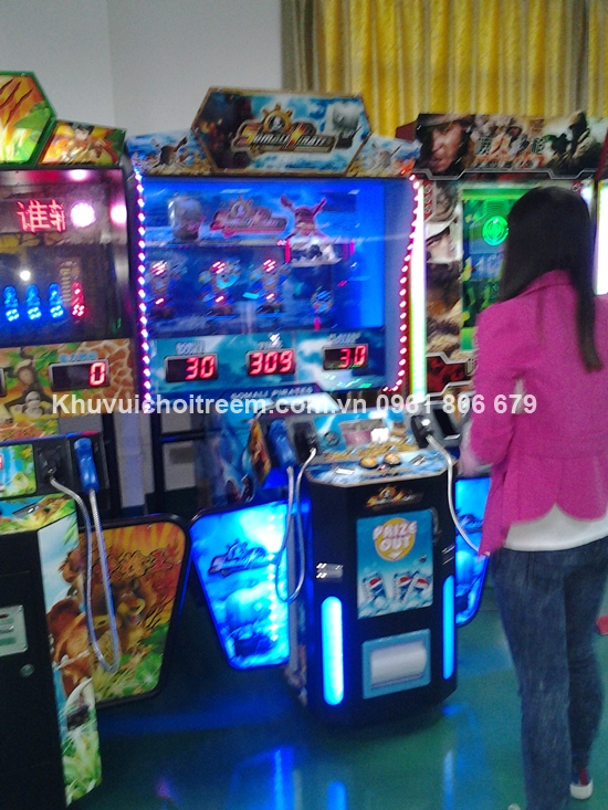lap dat may game tai sieu thi Hai Phong1