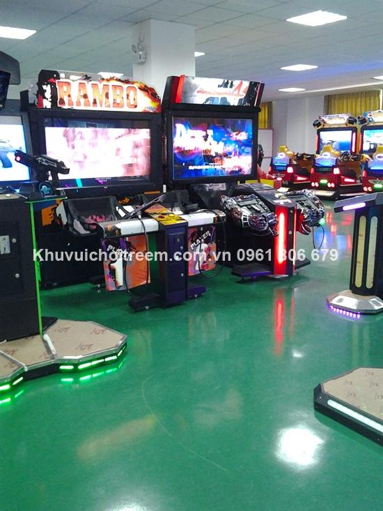 lap dat may game tai sieu thi Hai Phong6