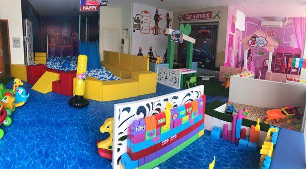 Khu vui chơi trẻ em DLand, quận 9, TP. HCM