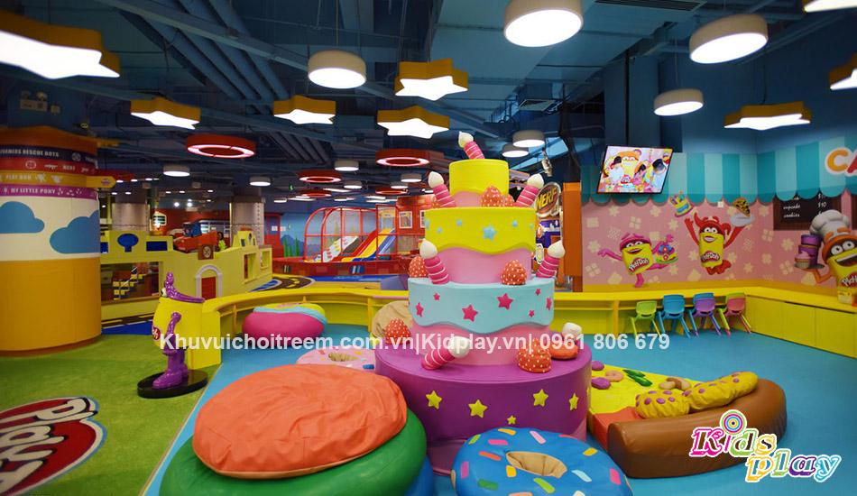 thiet ke khu vui choi, playground design