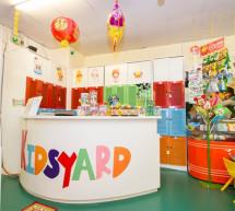 Khu vui chơi Kidsyard – thiên đường trò chơi vận động dành cho bé
